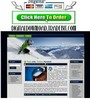 Thumbnail Skiing Template Package