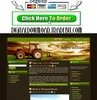 Thumbnail Agriculture Tractor Template
