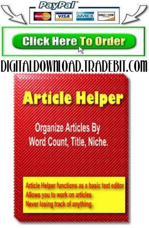 Product picture Article Helper
