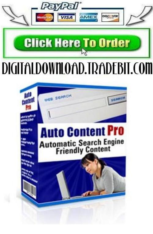 Product picture Auto Content Pro