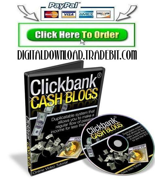 Product picture Clickbank Review Cash Blogs