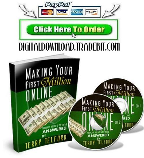 Product picture Making Your First Million Online