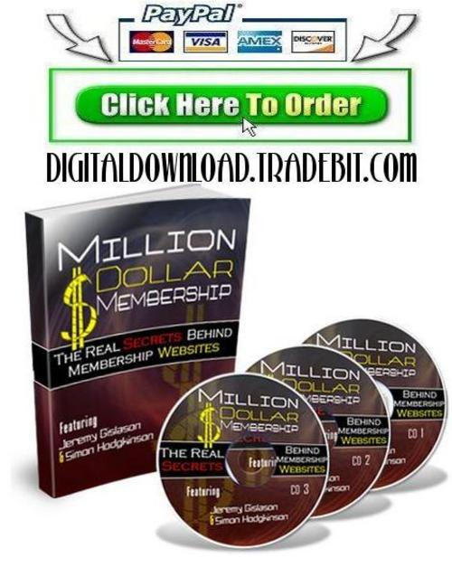Product picture Million Dollar Membership