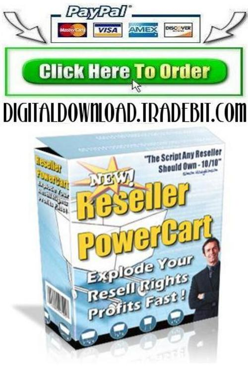 Product picture Reseller Power Cart