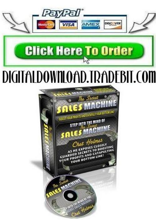 Product picture Secrets Of Sales Machine
