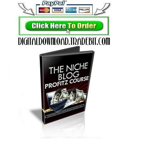 Product picture The Niche Blog Profitz
